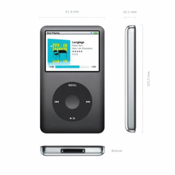 Apple iPod Classic 160Go Occasions & Reconditionnés Garantie 1 an en Stock | McPrice Paris Trocadéro