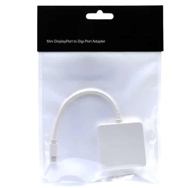 Adaptateur Mini DisplayPort vers DVI & HDMI   Accessoires Garantie 1 an   McPrice Paris Trocadéro