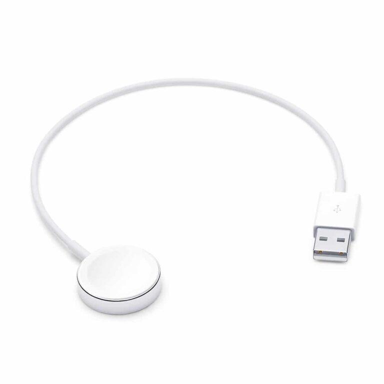 Apple Câble de charge magnétique pour Apple Watch (0,3 m)   Accessoires Garantie 1 an en Stock   McPrice Paris Trocadéro