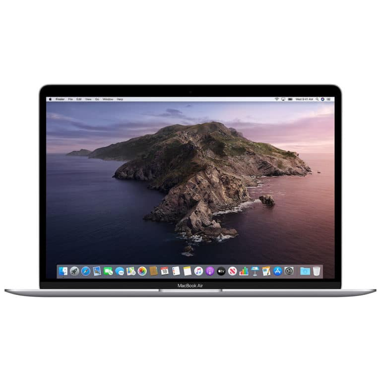Apple MacBook Air 13 Pouces 1,1GHz-i3-8Go-256Go-Intel Iris Plus Graphics - Argent - Neuf Garantie 1 an en Stock | Trocadéro Paris