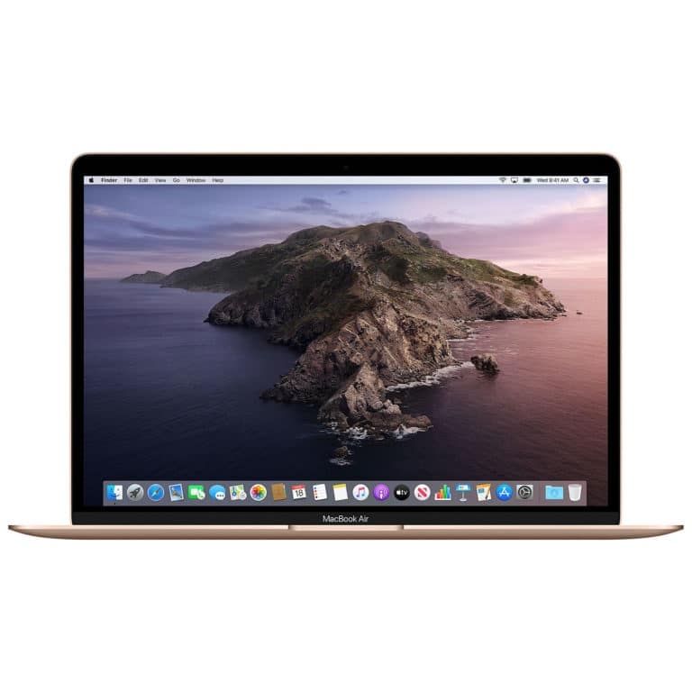 Apple MacBook Air 13 Pouces 1,1GHz/i3/8Go/512Go/Intel Iris Plus Graphics - Or | Neuf Garantie 1 an en Stock | McPrice Paris Trocadéro
