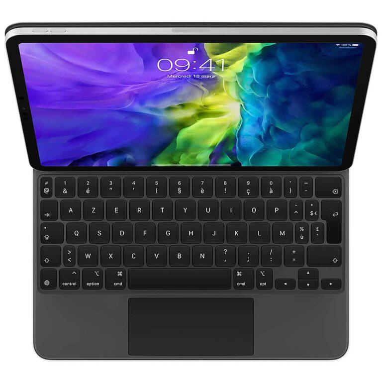 "Apple Magic Keyboard iPad Pro 11"" (2020) - (FR) Accessoires Garantie 1 an en Stock   McPrice Paris Trocadéro"