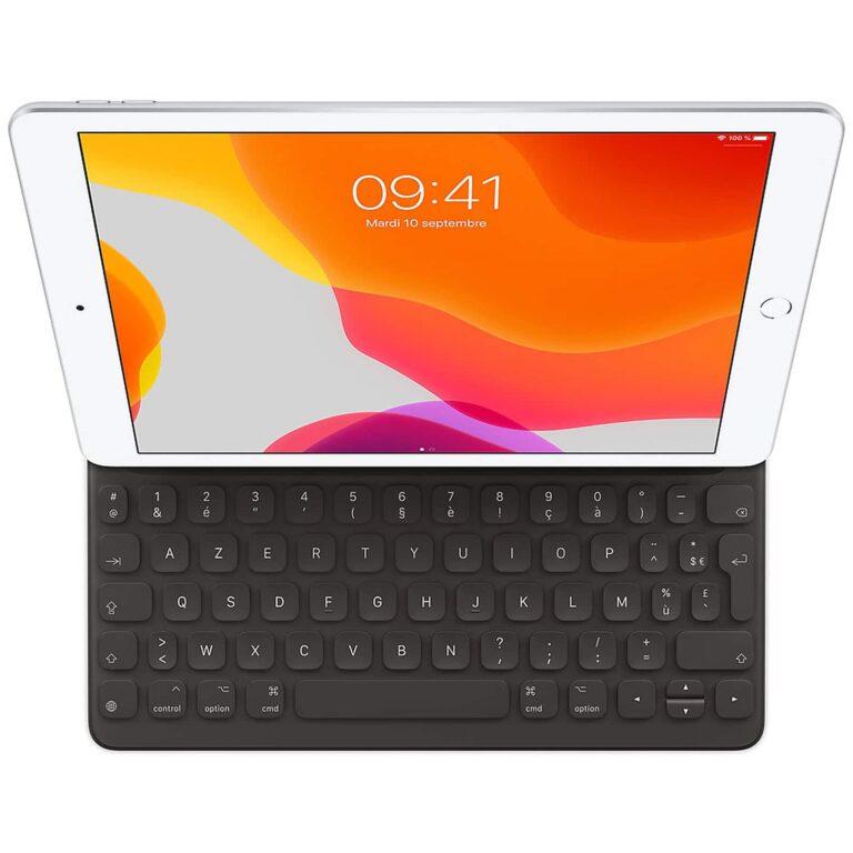 Apple Smart Keyboard iPad 7/iPad Air 3 - (FR) Accessoires Garantie 1 an en Stock | McPrice Paris Trocadéro