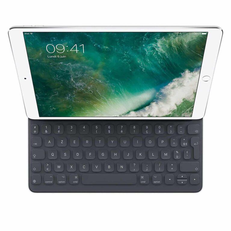 "Apple Smart Keyboard pour iPad Pro 10.5"" - (FR) Accessoires Garantie 1 an en Stock   McPrice Paris Trocadéro"