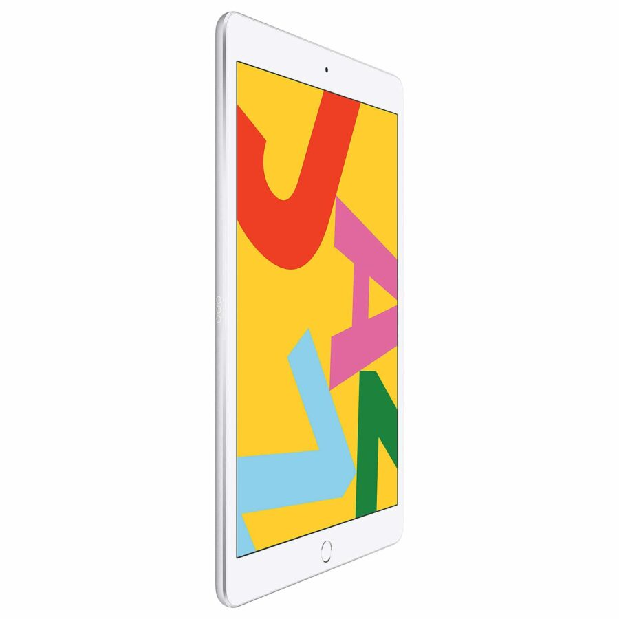 Apple iPad 10.2 pouces Wi-Fi + Cellular 128 Go - Argent - Neuf Garantie 1 an en Stock | Trocadéro Paris