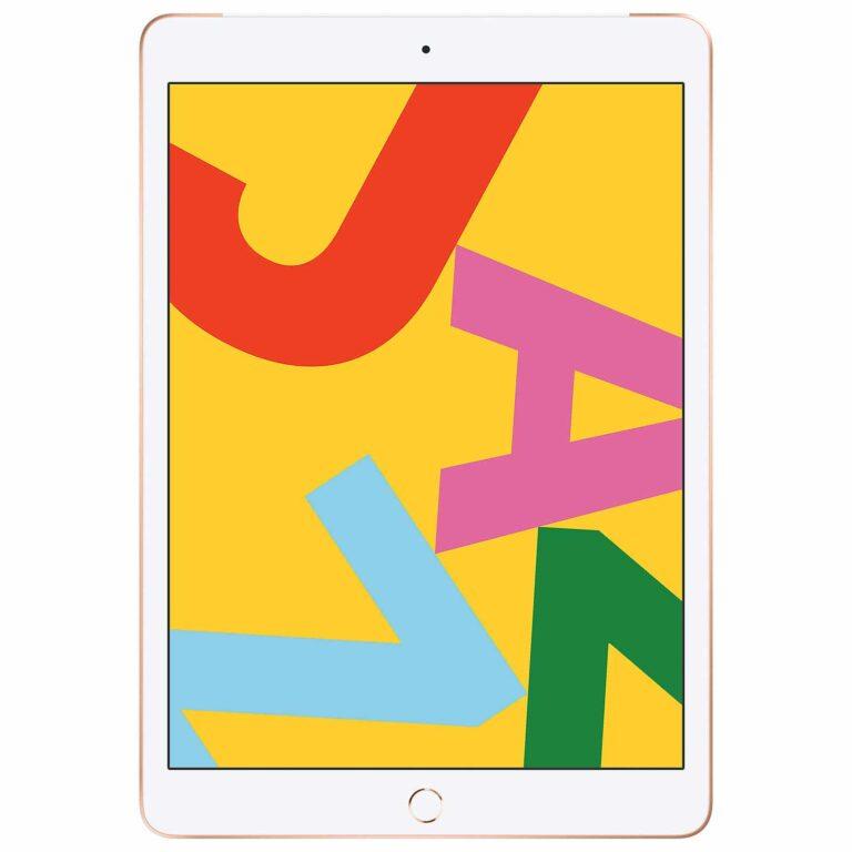Apple iPad 10.2 pouces Wi-Fi + Cellular 128 Go - Or - Neuf Garantie 1 an en Stock | Paris Trocadéro