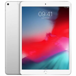Apple iPad Air (2019) Wi-Fi + Cellular 256 Go - Argent - Neuf Garantie 1 an en Stock | Trocadéro Paris