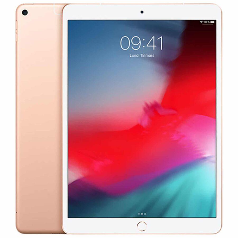 Apple iPad Air (2019) Wi-Fi + Cellular 256 Go Or - Neuf Garantie 1 an en Stock | Paris Trocadéro