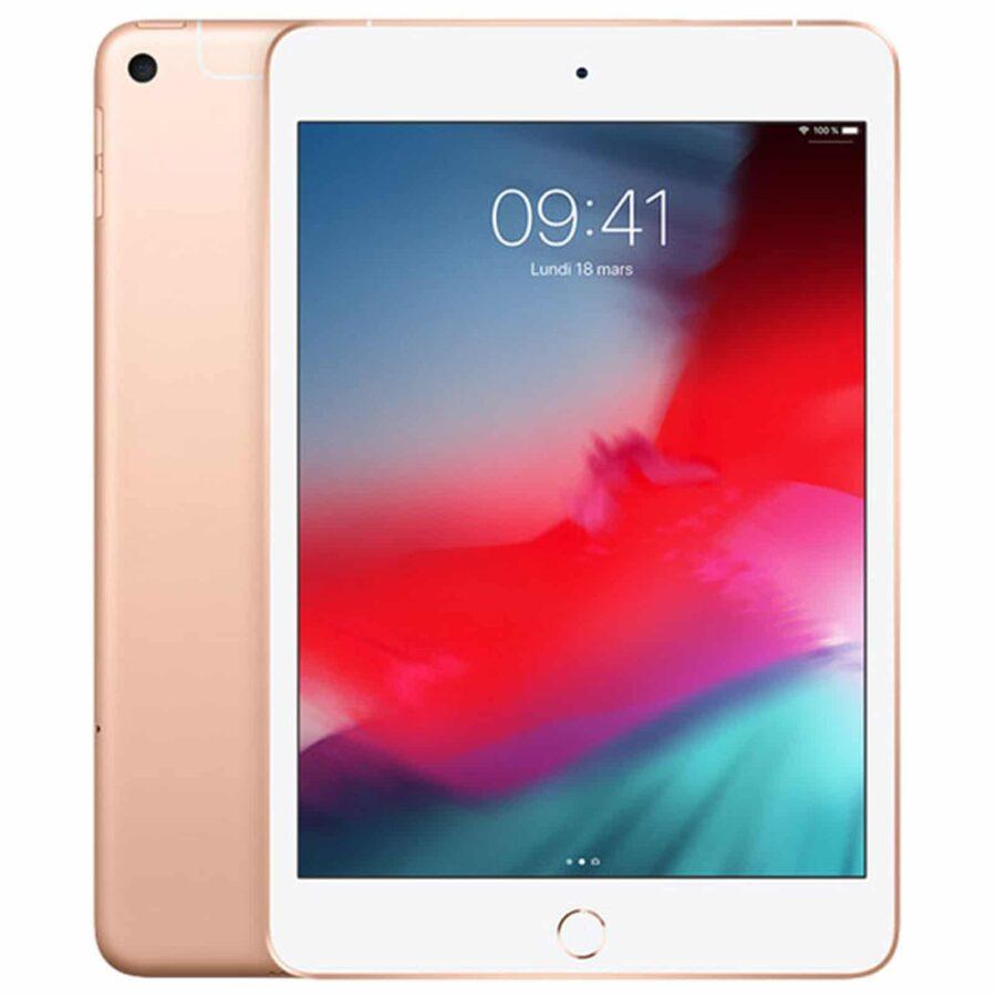Apple iPad Mini 5 Wi-Fi + Cellular 64 Go - Or - Neuf Garantie 1 an en Stock   Trocadéro Paris