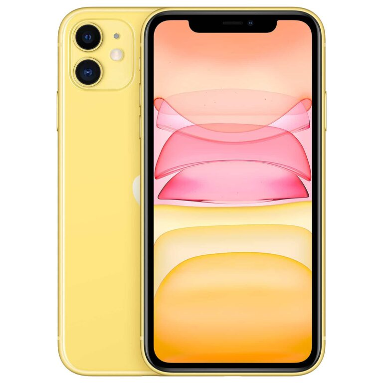 Apple iPhone 11 128 Go Jaune - Neuf Garantie 1 an en Stock | Trocadéro Paris