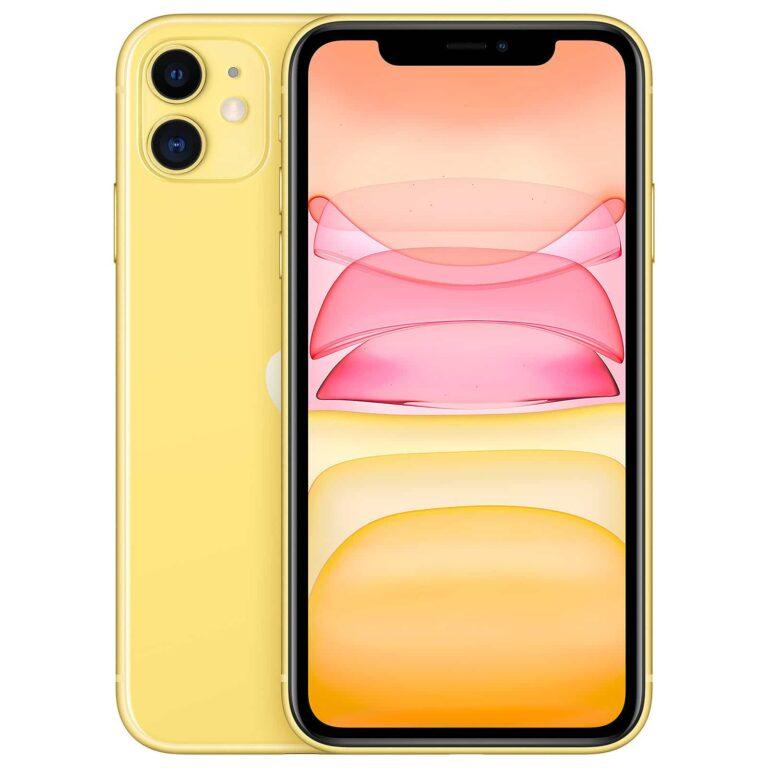 Apple iPhone 11 128 Go Jaune - Neuf Garantie 1 an en Stock | Trocadéro Paris