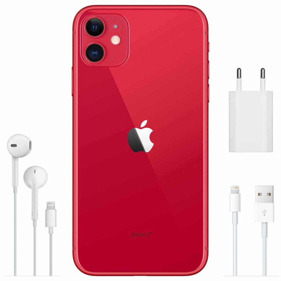 Apple iPhone 11 128 Go (PRODUCT)RED - Neuf Garantie 1 an en Stock | Trocadéro Paris