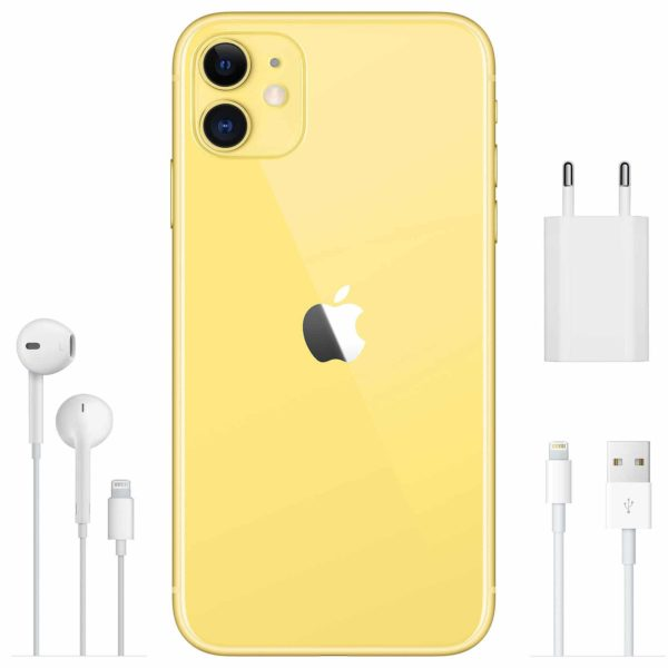 Apple iPhone 11 64 Go Jaune - Neuf Garantie 1 an en Stock | Trocadéro Paris