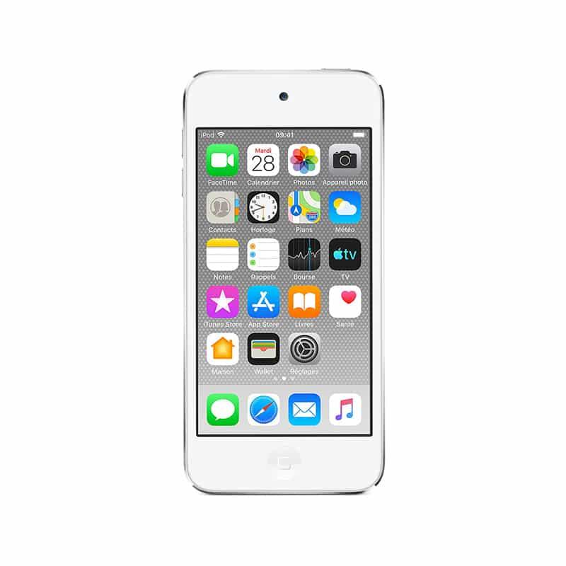 Apple iPod touch (2019) 128 Go Argent v2- Neuf Garantie 1 an en Stock _ Trocadéro Paris