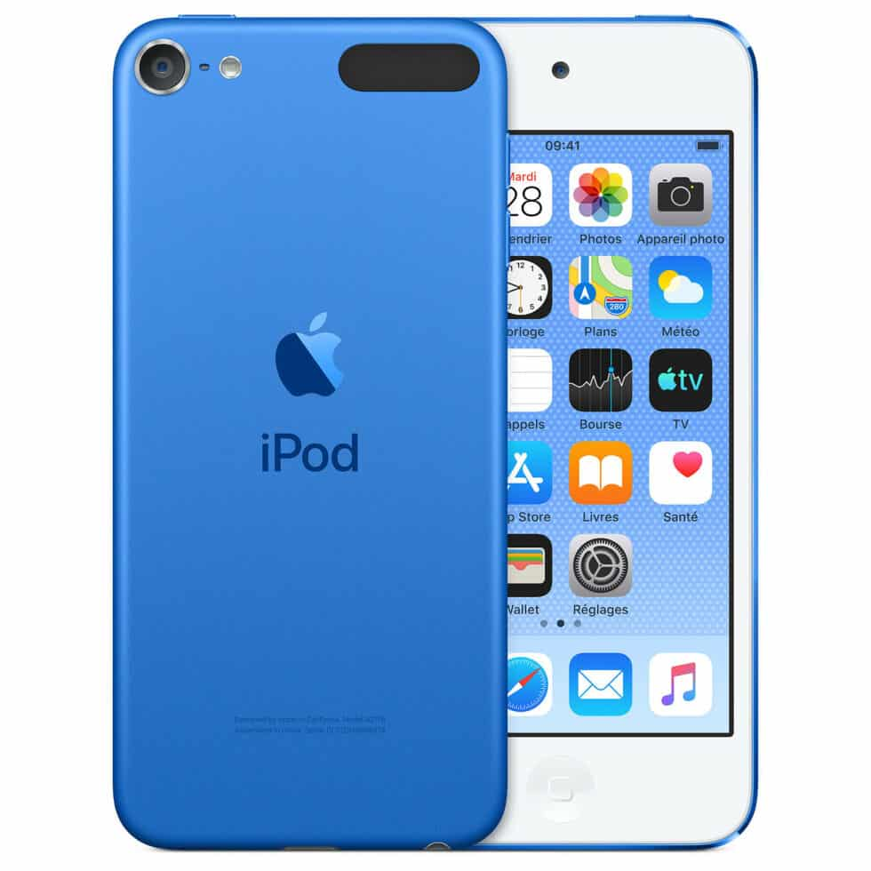 Apple iPod touch (2019) 128 Go - Bleu - Neuf Garantie 1 an en Stock | Trocadéro Paris