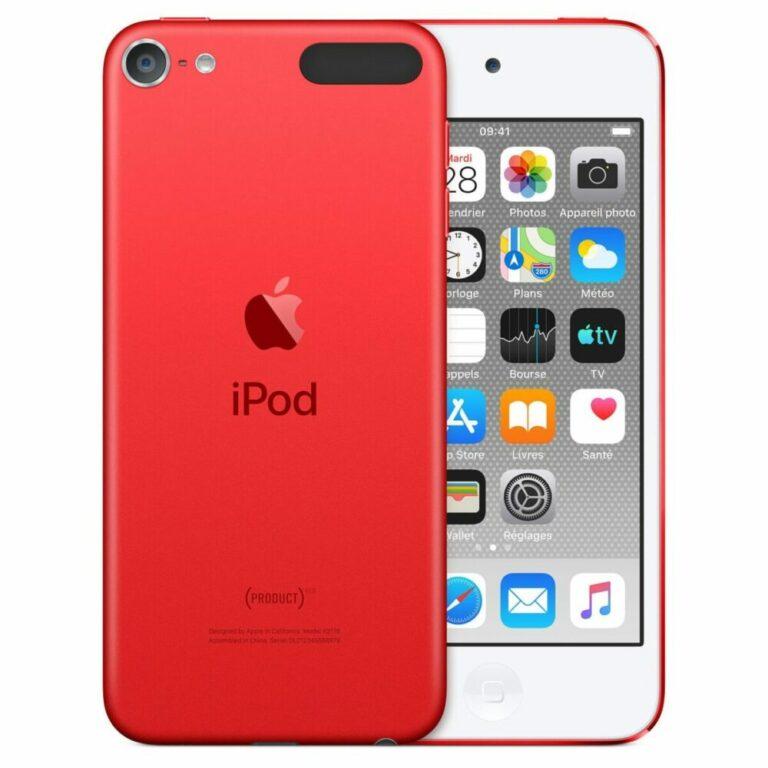 Apple iPod touch (2019) 128 Go (PRODUCT)RED - Neuf Garantie 1 an en Stock   Trocadéro Paris