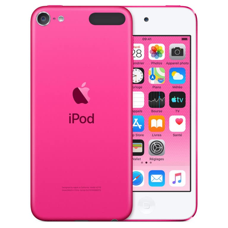 Apple iPod touch (2019) 128 Go - Rose - Neuf Garantie 1 an en Stock | Trocadéro Paris