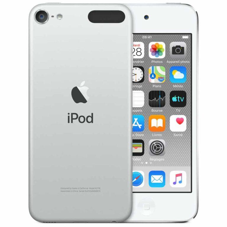 Apple iPod touch (2019) 256 Go Argent - Neuf Garantie 1 an en Stock   Trocadéro Paris