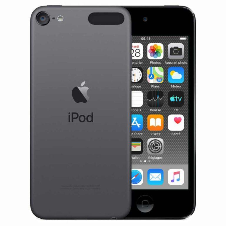 Apple iPod touch (2019) 256 Go - Gris Sidéral - Neuf Garantie 1 an en Stock   Trocadéro Paris