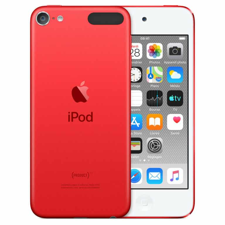 Apple iPod touch (2019) 256 Go (PRODUCT)RED - Neuf Garantie 1 an en Stock | Trocadéro Paris
