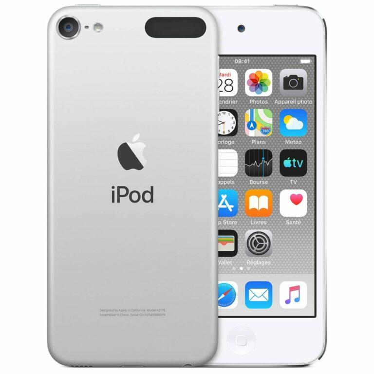 Apple iPod touch (2019) 32 Go Argent - Neuf Garantie 1 an en Stock   Trocadéro Paris
