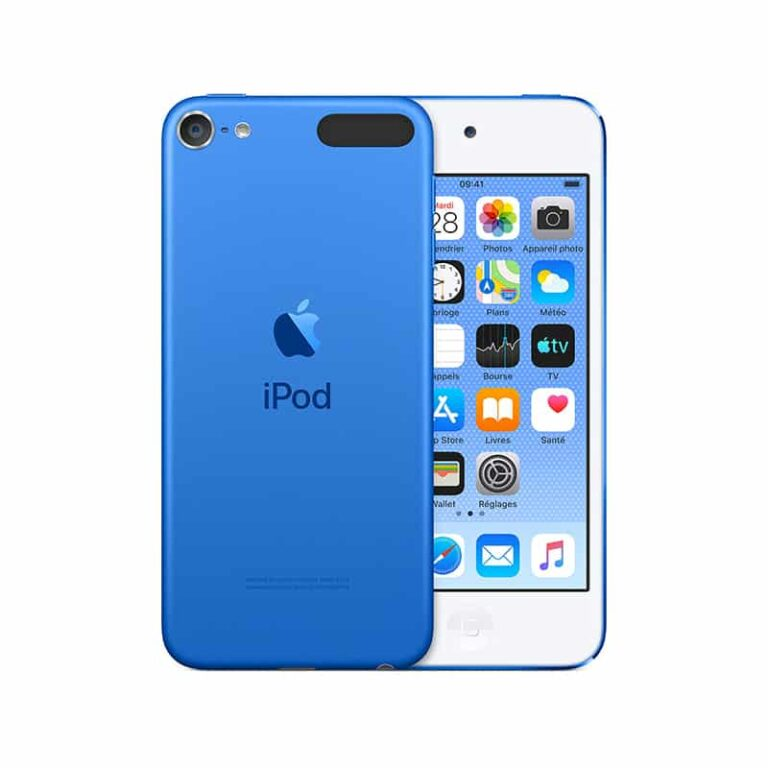 Apple iPod touch (2019) 32 Go - Bleu - Neuf Garantie 1 an en Stock   Trocadéro Paris