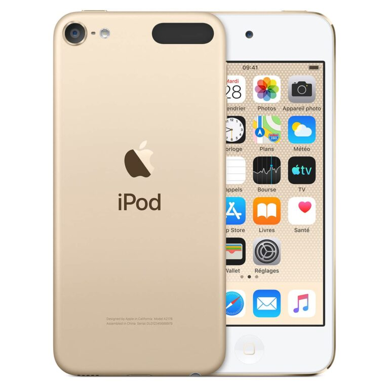 Apple iPod touch (2019) 32 Go Or - Neuf Garantie 1 an en Stock | Trocadéro Paris