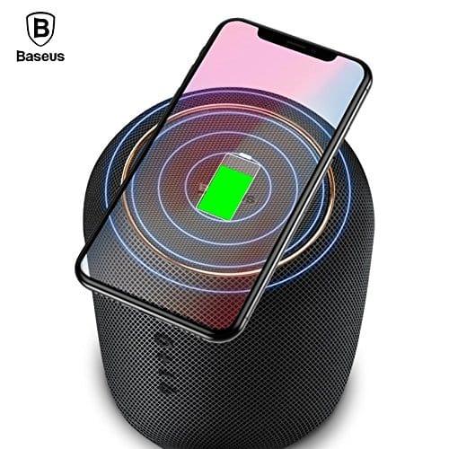 Baseus Encok Bluetooth haut-parleur E50 Qi chargeur - Noir Accessoires Garantie 1 an en Stock   McPrice Paris Trocadéro 1