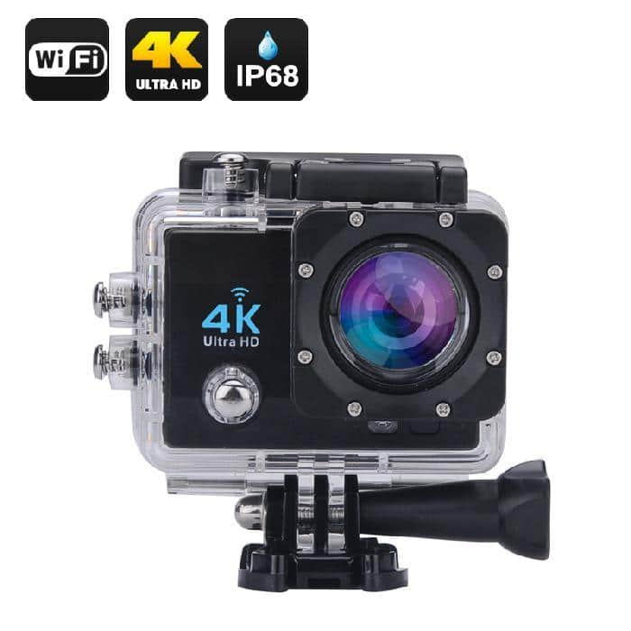 Caméra Full HD 4K DV Go Action étanche WiFi Sports et accessoires 32 Go - Noir - Accessoires Garantie 1 an en Stock | Trocadéro Paris