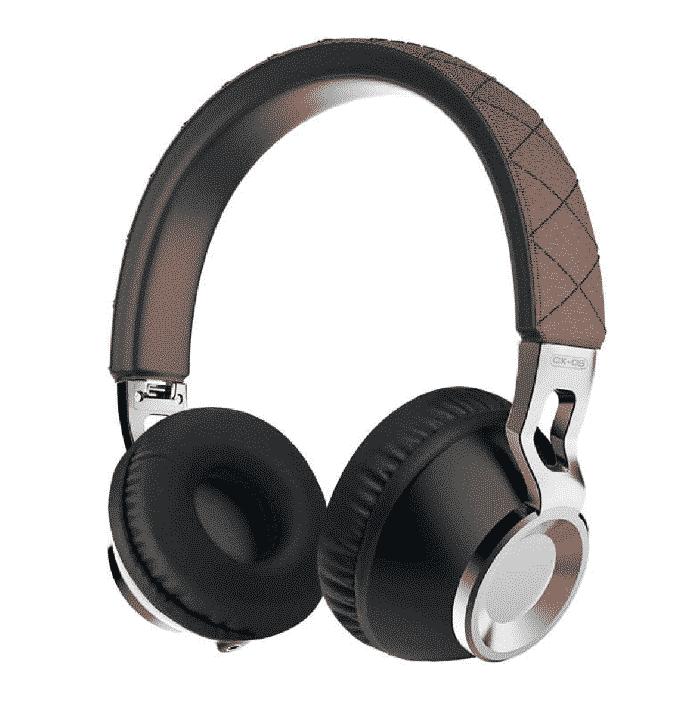 Casque audio Sound Intone CX-05 filaire pliable en Aluminium - Marron - Accessoires Garantie 1 an en Stock | Trocadéro Paris