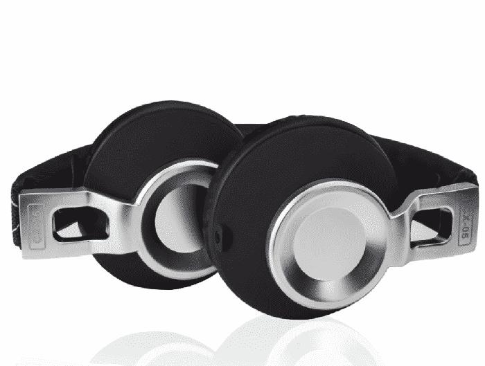 Casque audio Sound Intone CX-05 filaire pliable en Aluminium - Noir - Accessoires Garantie 1 an en Stock | Trocadéro Paris