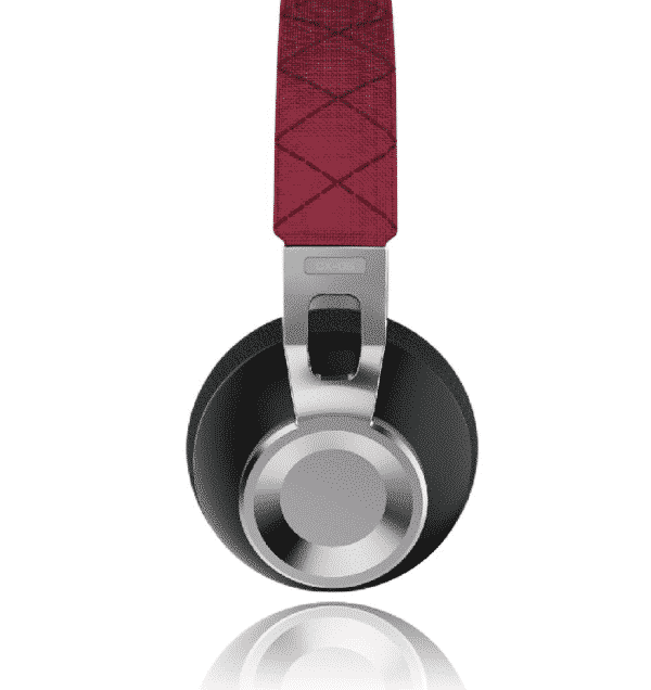 Casque audio Sound Intone CX-05 filaire pliable en Aluminium - Rouge - Accessoires Garantie 1 an en Stock | Trocadéro Paris