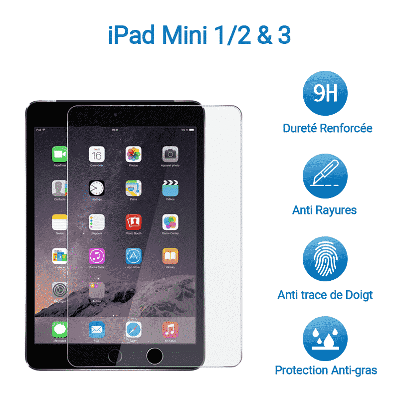Film de protection iPad Mini 1, 2 & 3 | McPrice Paris Trocadéro