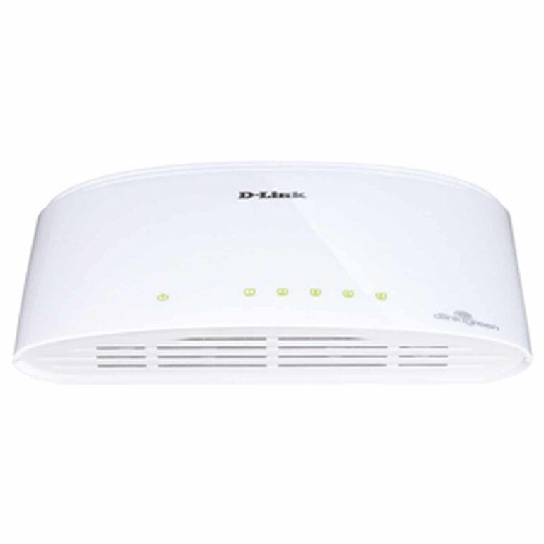 Switch Gigabit 8 ports 10/100/1000 Mbps | D-Link DGS-1008D | Accessoires Garantie 1 an | McPrice Paris Trocadéro
