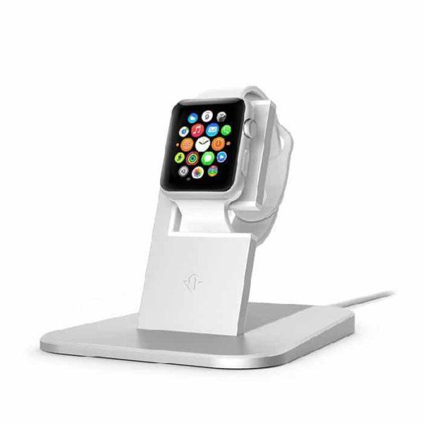 Twelve South HiRise - Support de charge pour Apple Watch - Blanc - Accessoires Garantie 1 an en Stock | Trocadéro Paris
