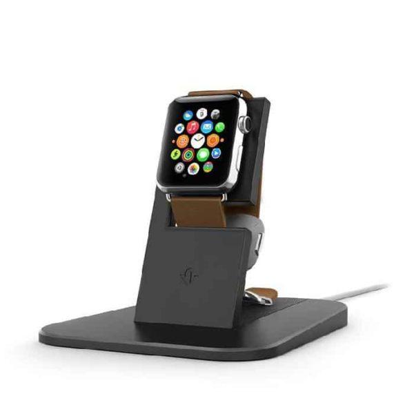 Twelve South HiRise - Support de charge pour Apple Watch - Noir - Accessoires Garantie 1 an en Stock | Trocadéro Paris
