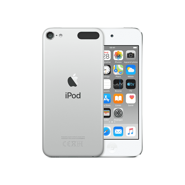 Apple iPod touch (2019) 128 Go Argent - Neuf Garantie 1 an en Stock   Trocadéro Paris