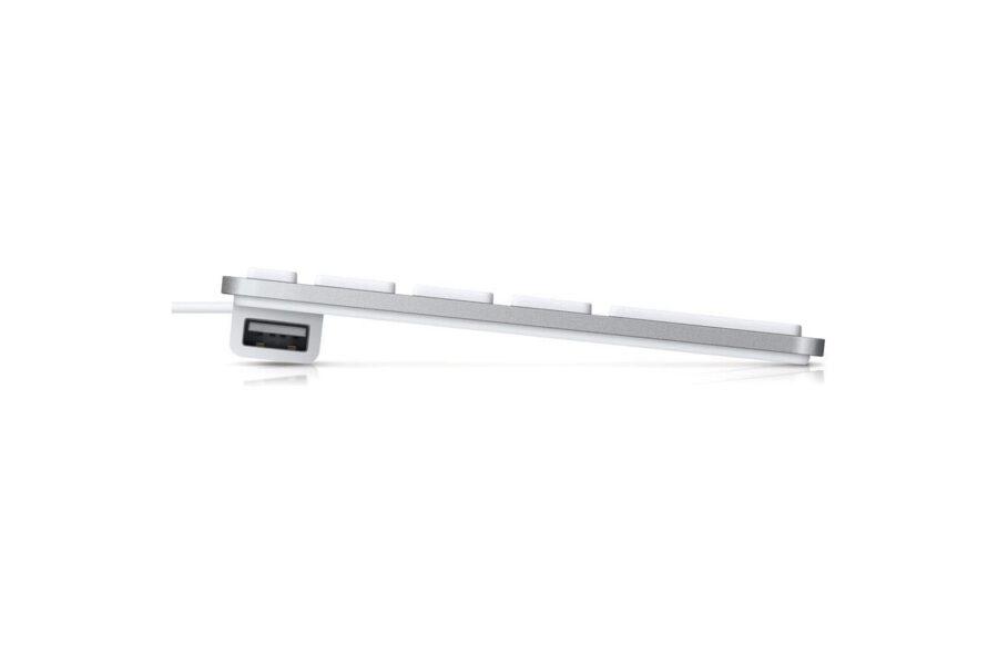 Apple Clavier USB avec pavé numérique (FR) - Argent   Accessoires Garantie 1 an en Stock   McPrice Paris Trocadéro