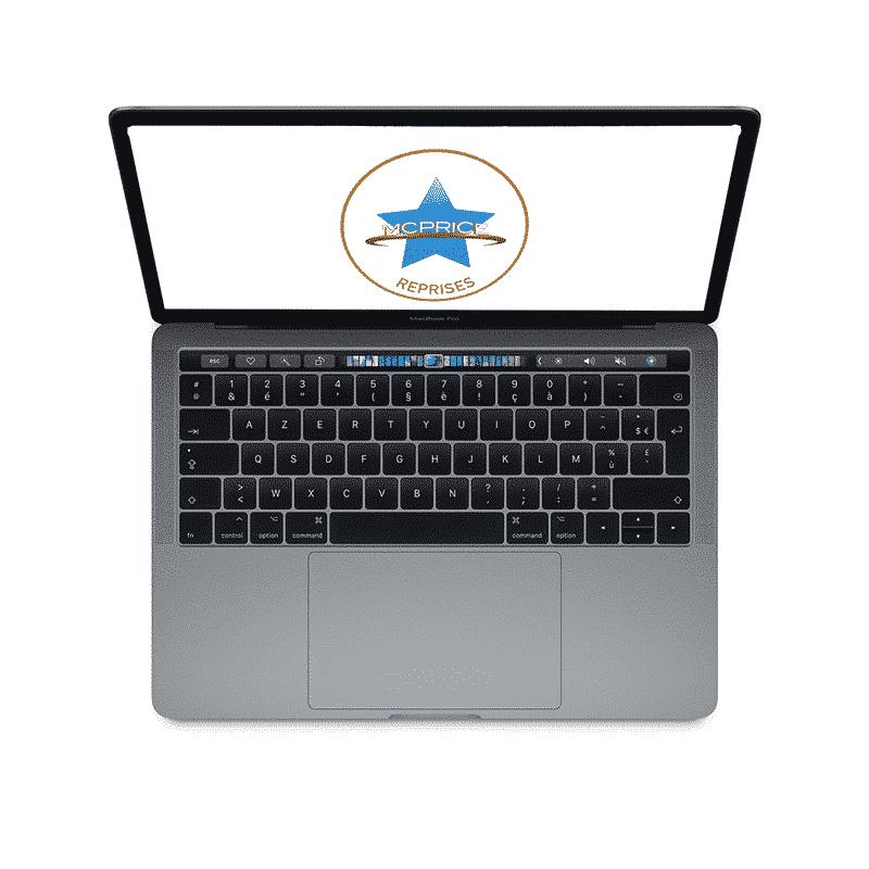 Reprise Apple MacBook Pro 13 Pouces Retina Touch Bar 2,9GHz/i5/8Go/256 Go SSD - Gris Sidéral | McPrice Paris Trocadero