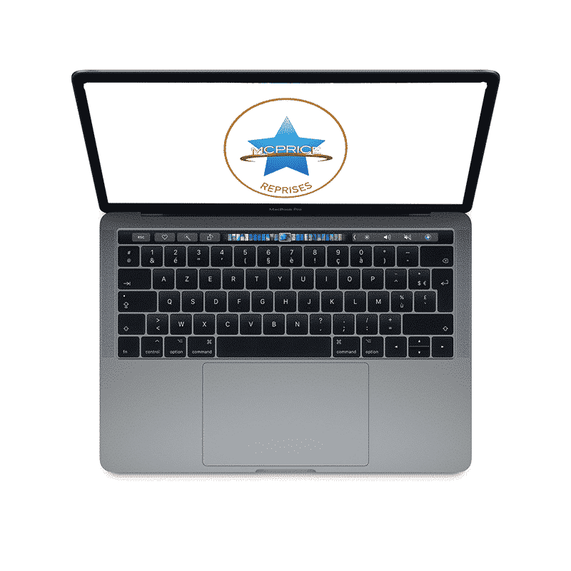 Reprise Apple MacBook Pro 15 Pouces Retina Touch Bar 2,6GHz/i7/16Go/256 Go SSD - Gris Sidéral | McPrice Paris Trocadero.