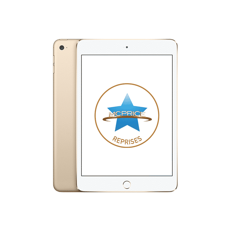 Reprise Apple iPad Mini 4 Wifi 128 Go - Or | McPrice Paris Trocadéro