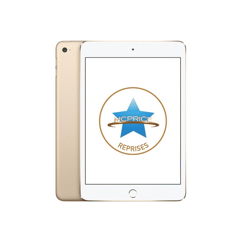 Reprise Apple iPad Mini 4 Wifi + Cellular 64 Go - Or   McPrice Paris Trocadéro