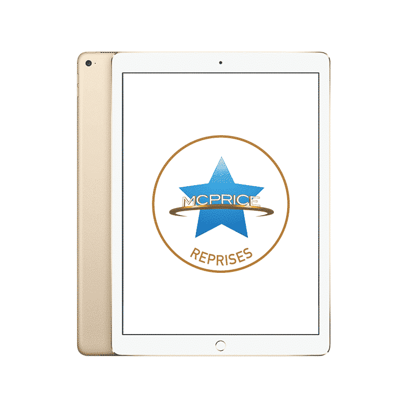 Reprise Apple iPad Pro 12,9 Pouces Wifi + Cellular 128 Go - Or   McPrice Paris Trocadéro