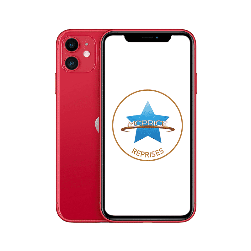 Reprise Apple iPhone 11 128 Go (Déverrouillé) - (PRODUCT)RED   McPrice Paris Trocadero