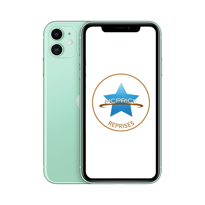 Reprise Apple iPhone 11 128 Go (Déverrouillé) - Vert   McPrice Paris Trocadero