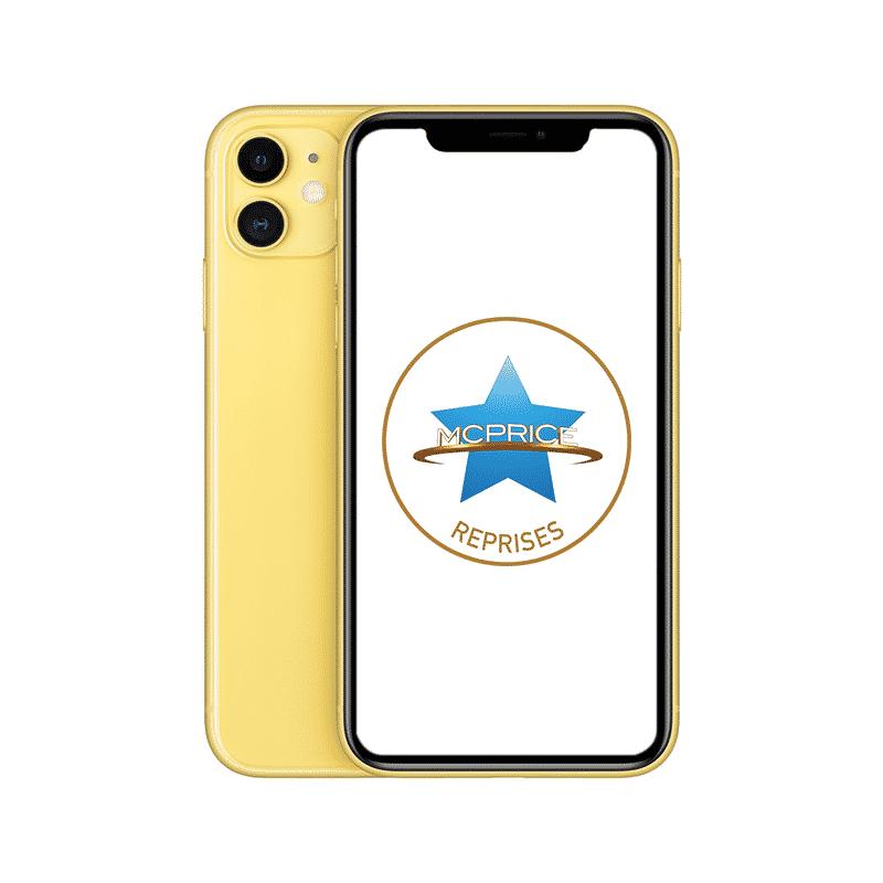 Reprise Apple iPhone 11 64 Go (Déverrouillé) - Jaune | McPrice Paris Trocadero