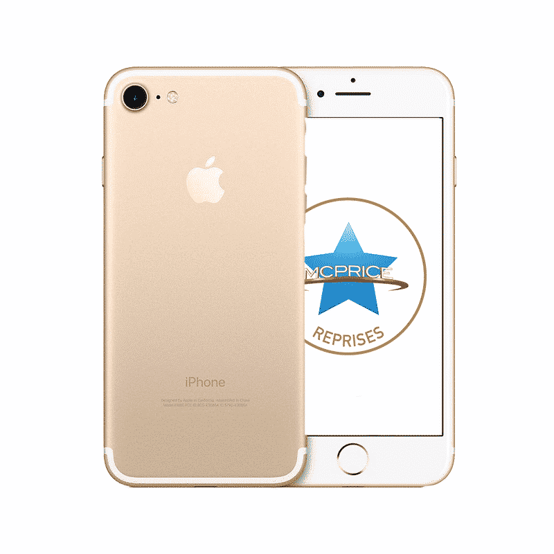 Reprise Apple iPhone 7 128 Go (Déverrouillé) - Or | McPrice Paris Trocadero