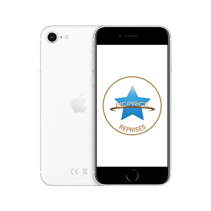 Reprise Apple iPhone SE 128 Go (Déverrouillé) – Blanc | McPrice Paris Trocadéro