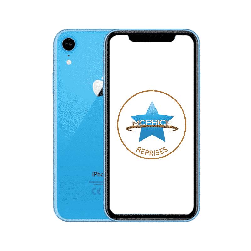 Reprise Apple iPhone XR 128 Go (Déverrouillé) - Bleu   McPrice Paris Trocadero