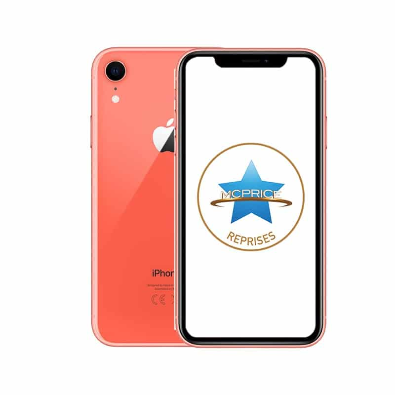 Reprise Apple iPhone XR 64 Go (Déverrouillé) - Corail | McPrice Paris Trocadero